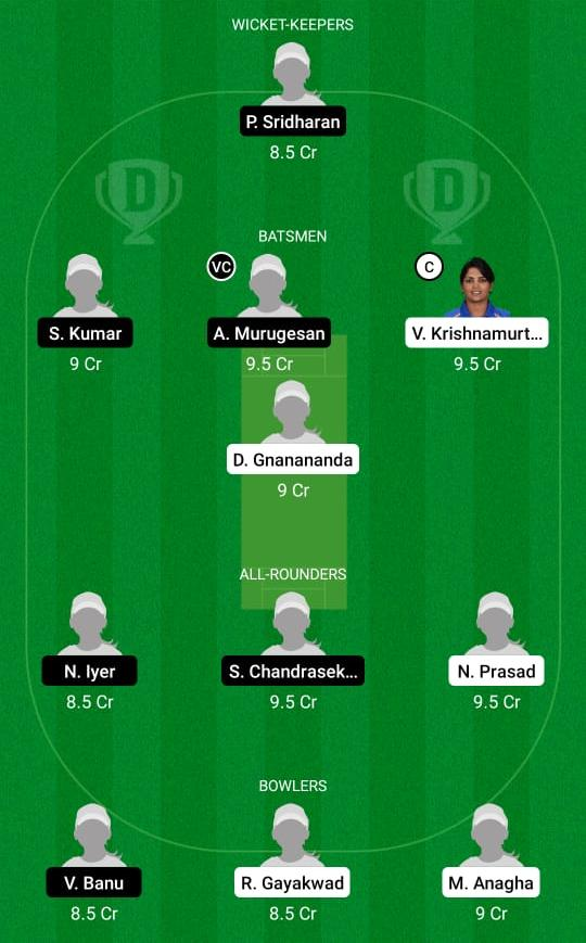 Karnataka Women vs Tamil Nadu Women Dream11 Prediction Fantasy Cricket Tips Dream11 Team Women's Senior One Day Trophy