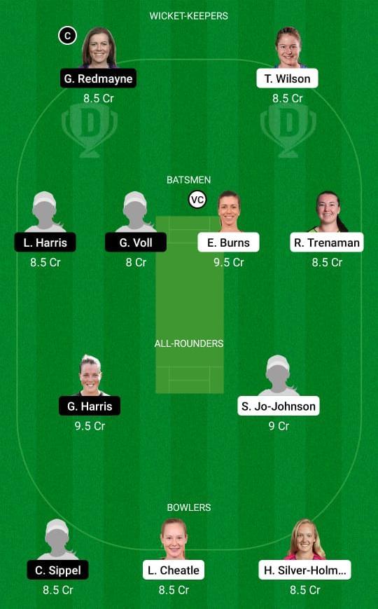 NSW-W vs QUN-W Dream11 Prediction Fantasy Cricket Tips Dream11 Team Australian Women's ODD