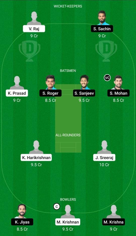 ROY vs PAN Dream11 Prediction Fantasy Cricket Tips Dream11 Team KCA Presidents Cup
