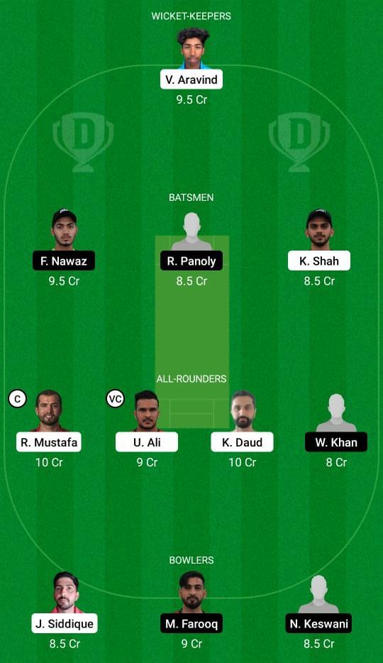 SHA vs DUB Dream11 Prediction Fantasy Cricket Tips Dream11 Team Emirates D10