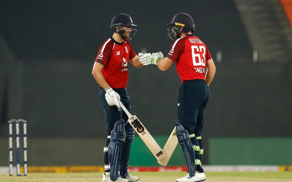Jos Buttler and Dawid Malan