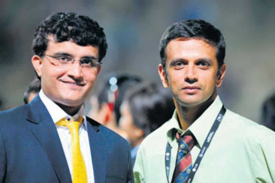 Rahul Dravid, Sourav Ganguly