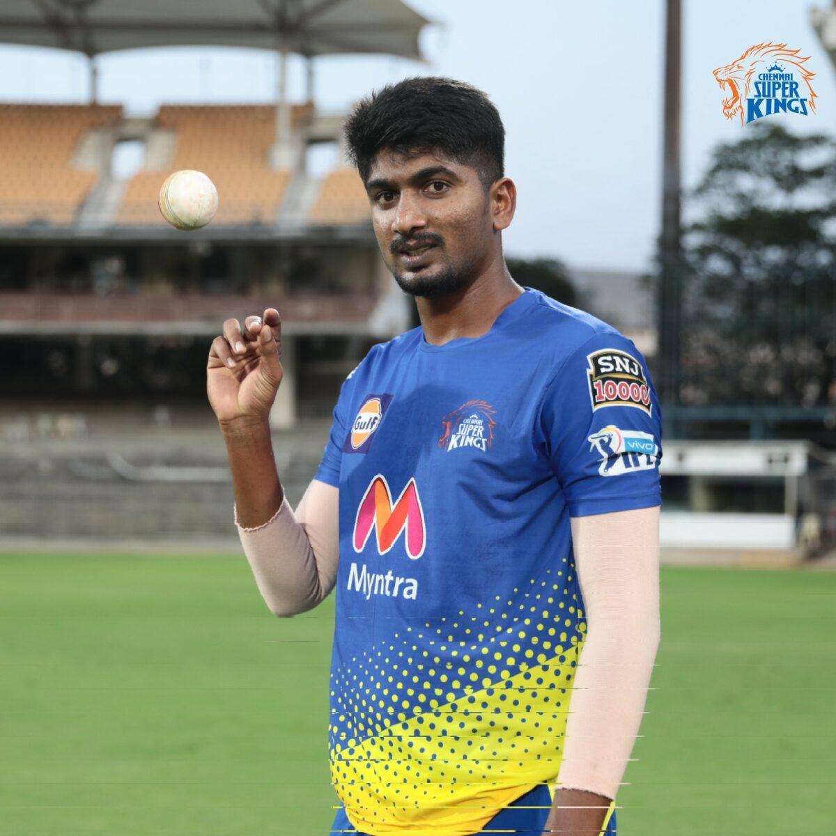 Harishankar Reddy, CSK, MS Dhoni