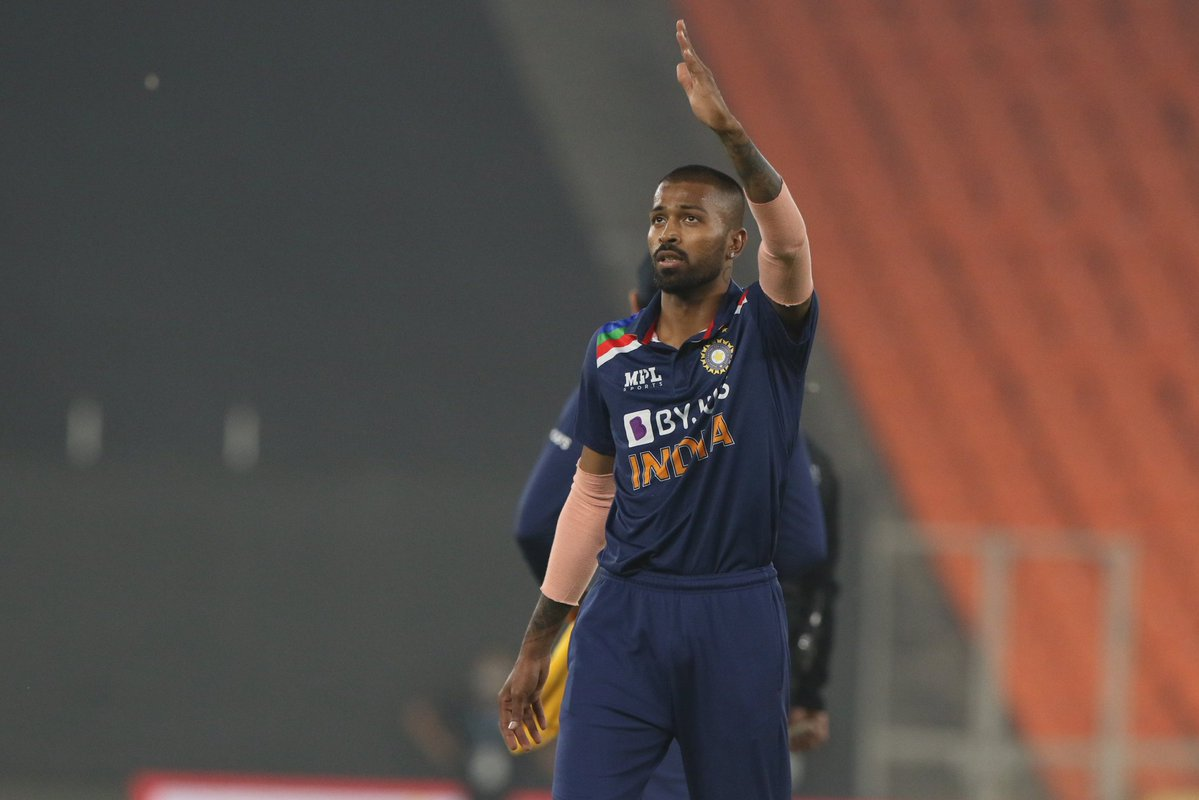 Hardik Pandya for India
