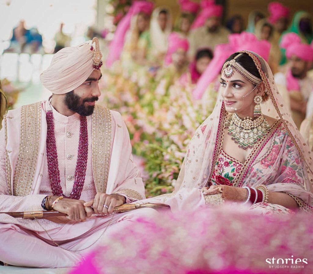 Jasprit Bumrah, Sanjana Ganeshan