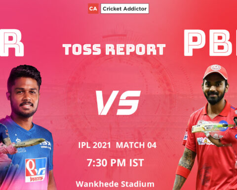 IPL 2021, Match 04: Rajasthan Royals (RR) vs Punjab Kings (PBKS)- Toss Report