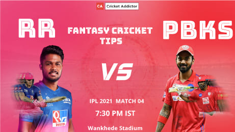 Rajasthan Royals (RR) vs Punjab Kings (PBKS) Dream11 Prediction, Fantasy Cricket Tips, Playing XI, Pitch Report, Dream11 Team, Injury Update of VIVO IPL 2021.