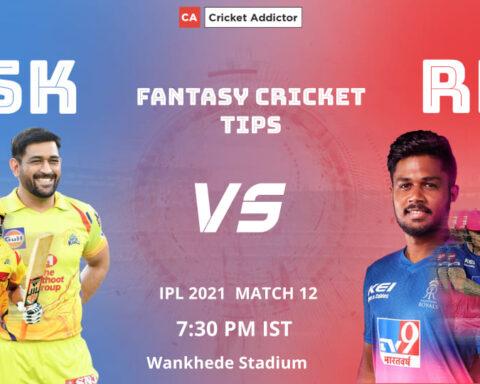 Chennai Super Kings (CSK) vs Rajasthan Royals (RR) Dream11 Prediction, Fantasy Cricket Tips, Fantasy Team, Playing XI, Pitch Report, Dream11 Team, Injury Update of VIVO IPL 2021.