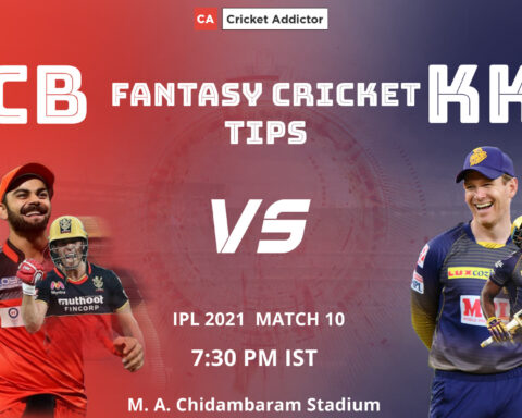 Royal Challengers Bangalore (RCB) vs Kolkata Knight Riders (KKR) Dream11 Prediction, Fantasy Cricket Tips, Playing XI, Pitch Report, Dream11 Team, Injury Update of VIVO IPL 2021.