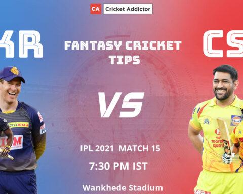 Kolkata Knight Riders (KKR) vs Chennai Super Kings (CSK) Dream11 Prediction, Fantasy Cricket Tips, Playing XI, Fantasy Team, Pitch Report, Dream11 Team, Injury Update of VIVO IPL 2021.