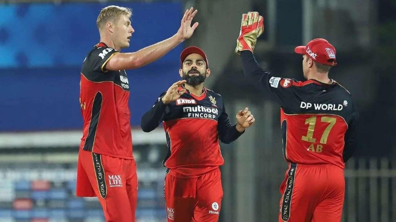 Kyle Jamieson and Virat Kohli (Photo-IPL)