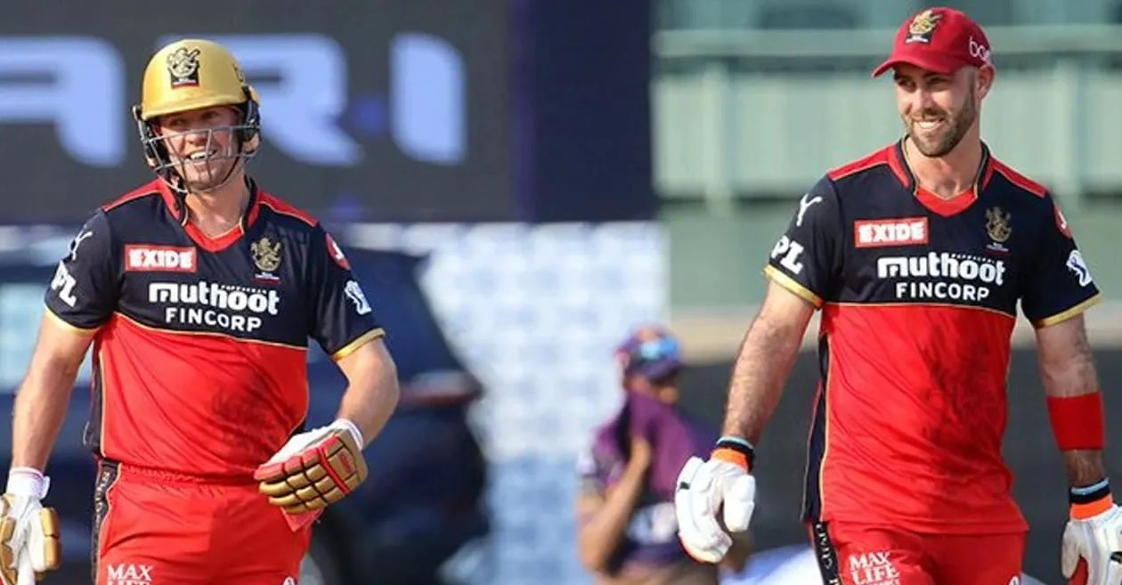 AB de Villiers and Glenn Maxwell