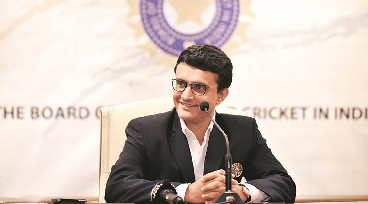 BCCI chief Sourav Ganguly, India