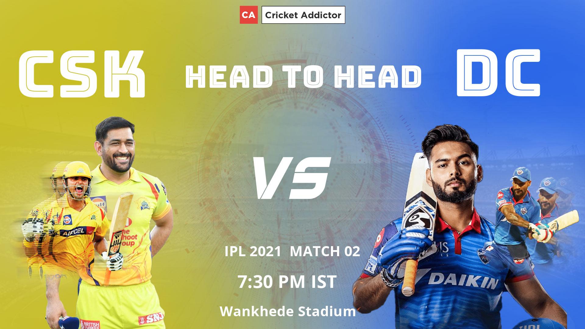 Delhi Capitals, Chennai Super Kings, CSK vs DC