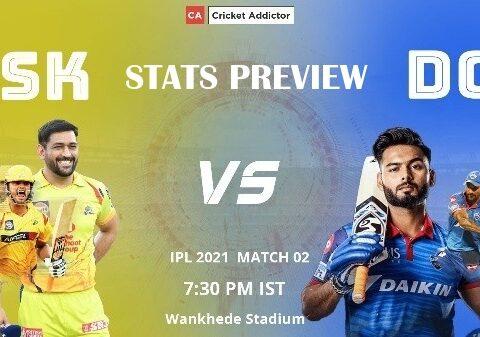 Chennai Super Kings, Delhi Capitals, CSK vs DC