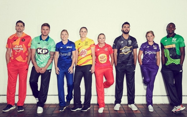 Captains of Teams in The Hundred Tournament