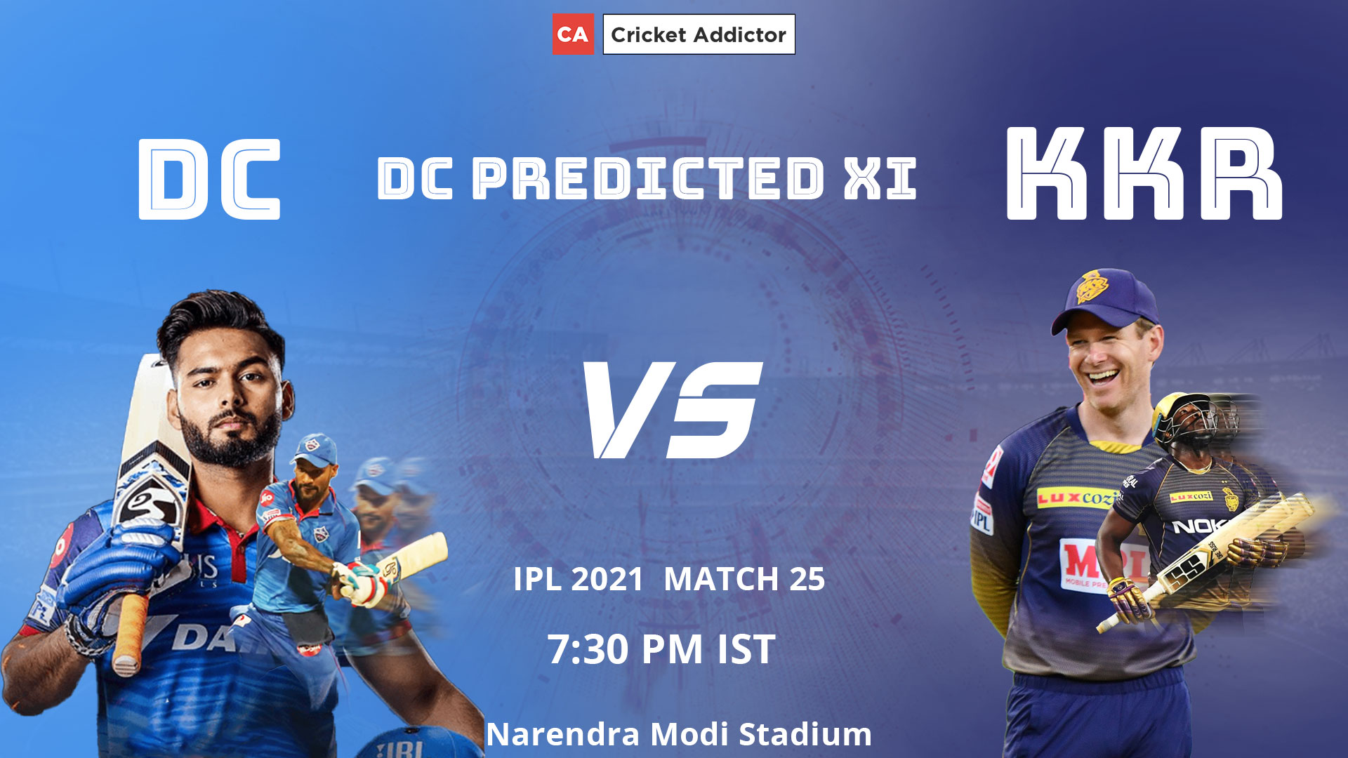 IPL 2021, Delhi Capitals, DC, predicted playing XI, playing XI, DC vs KKR
