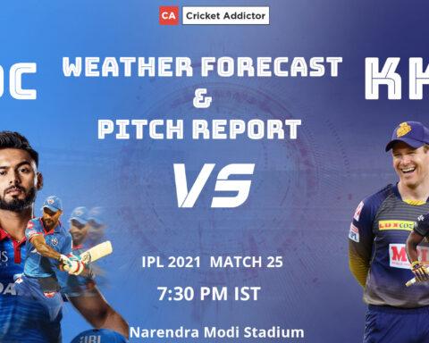 IPL 2021, Delhi Capitals, Kolkata Knight Riders, Weather, Pitch, DC vs KKR