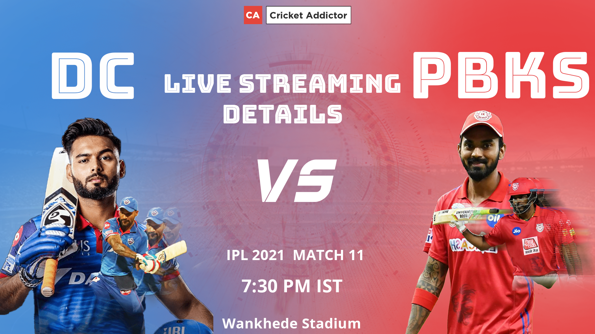 IPL 2021, Delhi Capitals, Punjab Kings, DC vs PBKS, Live Streaming, When and Where to Watch
