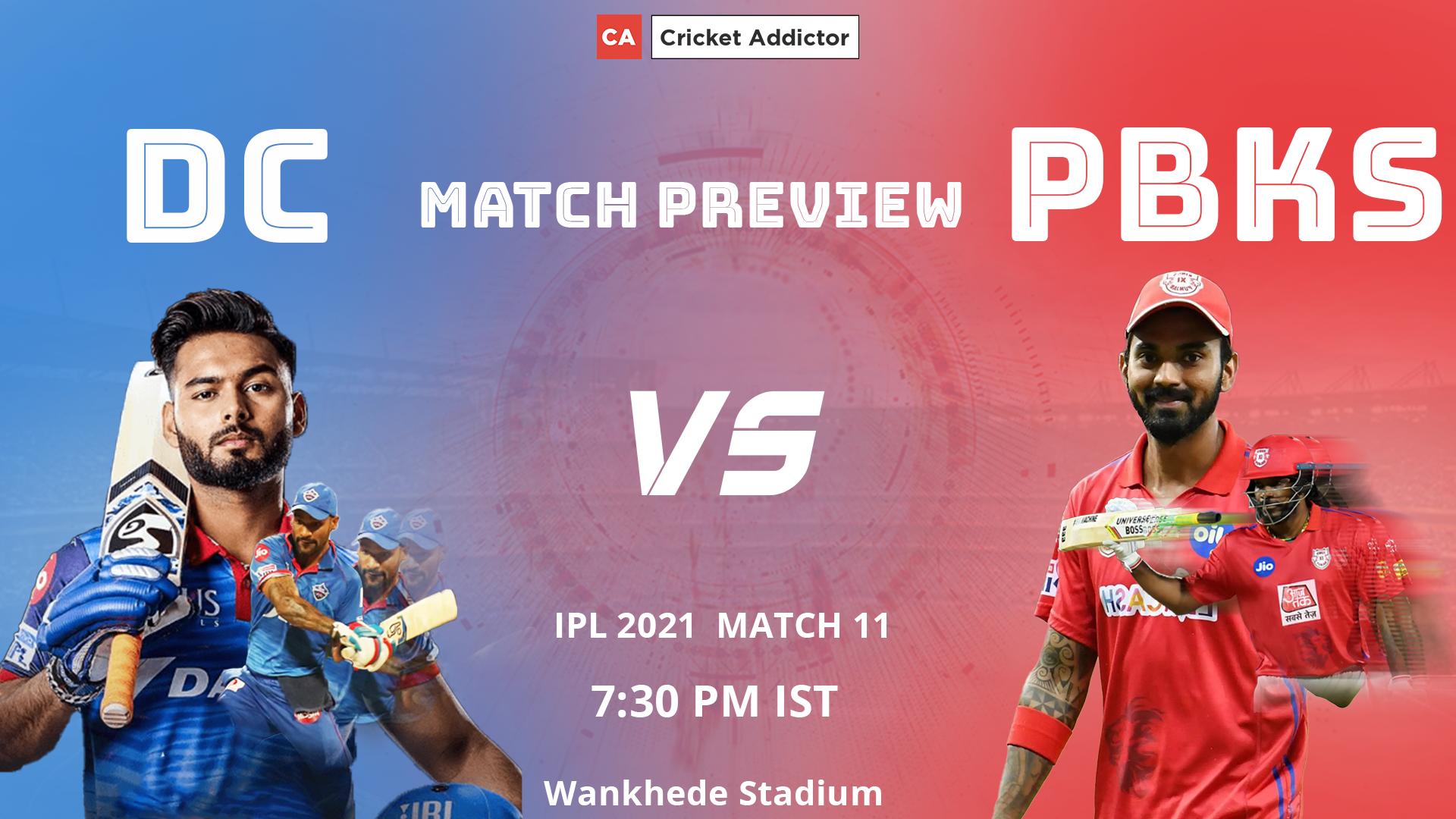 IPL 2021, Delhi Capitals, Punjab Kings, Match Preview, Prediction, DC vs PBKS