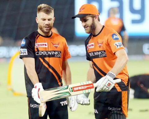 David Warner and Kane Williamson