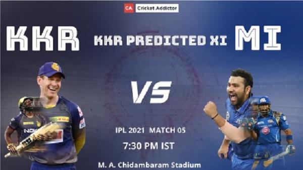 Kolkata Knight Riders, KKR, predicted playing XI