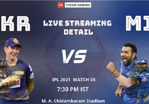 IPL 2021, Kolkata Knight Riders, Mumbai Indians, KKR vs MI, When and Where to Watch, Live Streaming