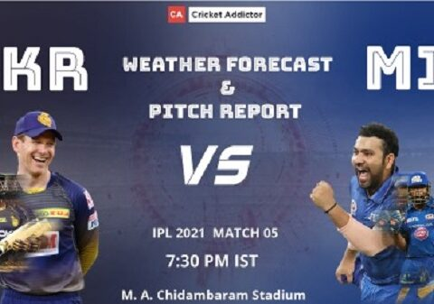 IPL 2021, Kolkata Knight Riders, Mumbai Indians, KKR vs MI, Weather Forecast, Pitch Report
