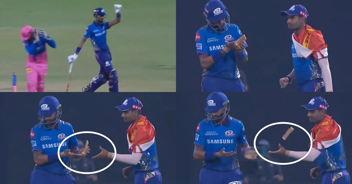 Watch: Krunal Pandya Carries On With His Disgusting On-Field Antics, This Time He Throws Away The Moisturizer Towards Anukul Roy