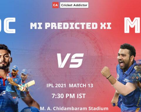 IPL 2021, Mumbai Indians, predicted playing XI, playing XI, MI, DC vs MI