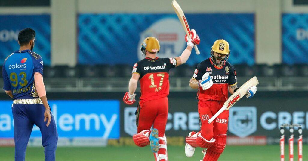 Virat Kohli, AB de Villiers, Jasprit Bumrah, MI vs RCB, indios de Mumbai, Royal Challengers Bangalore