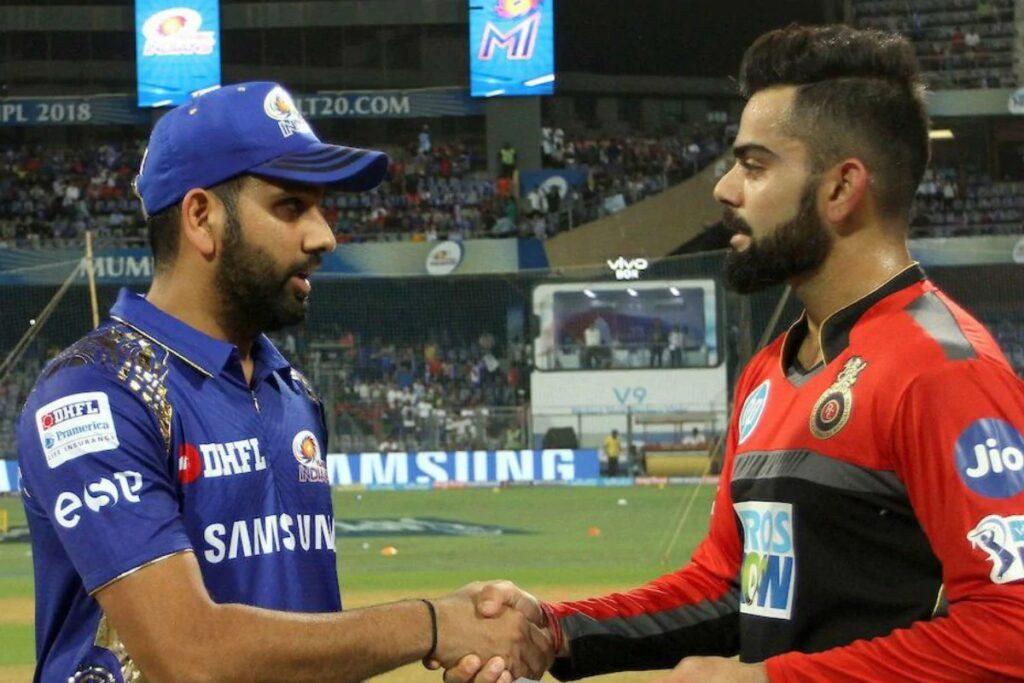 Rohit Sharma, Virat Kohli, MI vs RCB