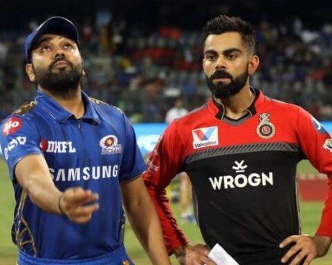 MI vs RCB, Rohit Sharma, Virat Kohli