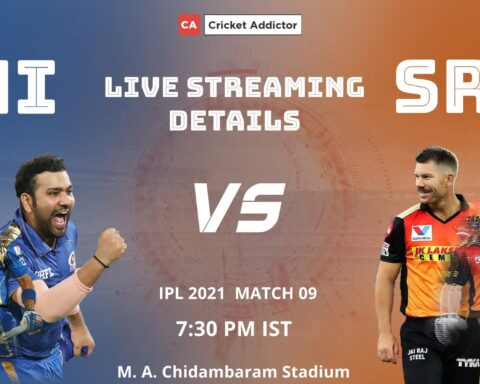 IPL 2021, Mumbai Indians, SunRisers Hyderabad, MI vs SRH, When and Where to Watch, Live Streaming
