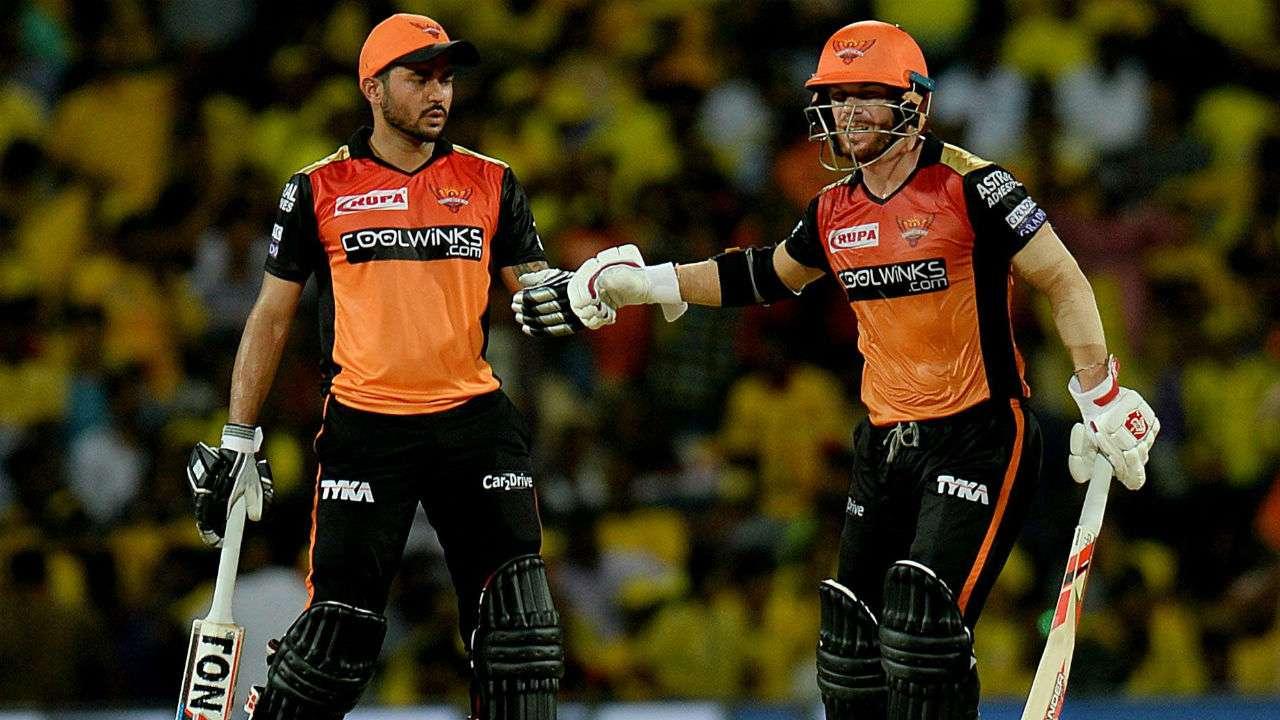Manish Pandey and David Warner, IPL 2021