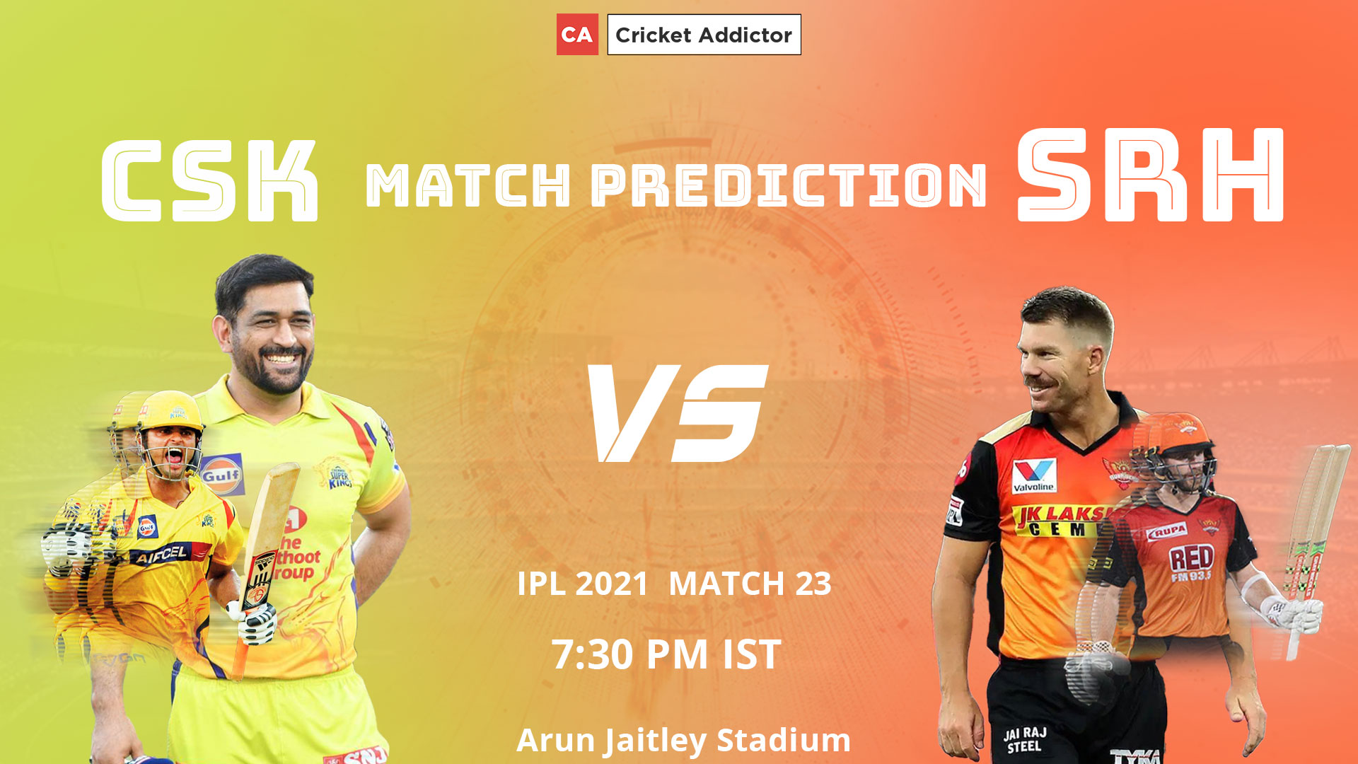 IPL 2021, CSK vs SRH, Match Prediction, CSK, SRH, Who Will Win The Match, Who Will Score Most Runs, Who Will Pick Most Wickets