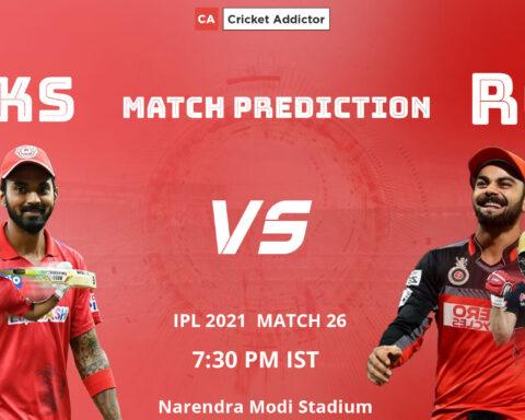 IPL 2021, PBKS, RCB, Match Prediction, PBKS vs RCB, Most Runs, Most Wickets, Winner
