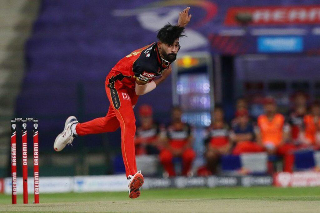 Mohammed Siraj, IPL 2021, RCB, Royal Challengers Bangalore, predicted playing XI, playing XI, PBKS vs RCB