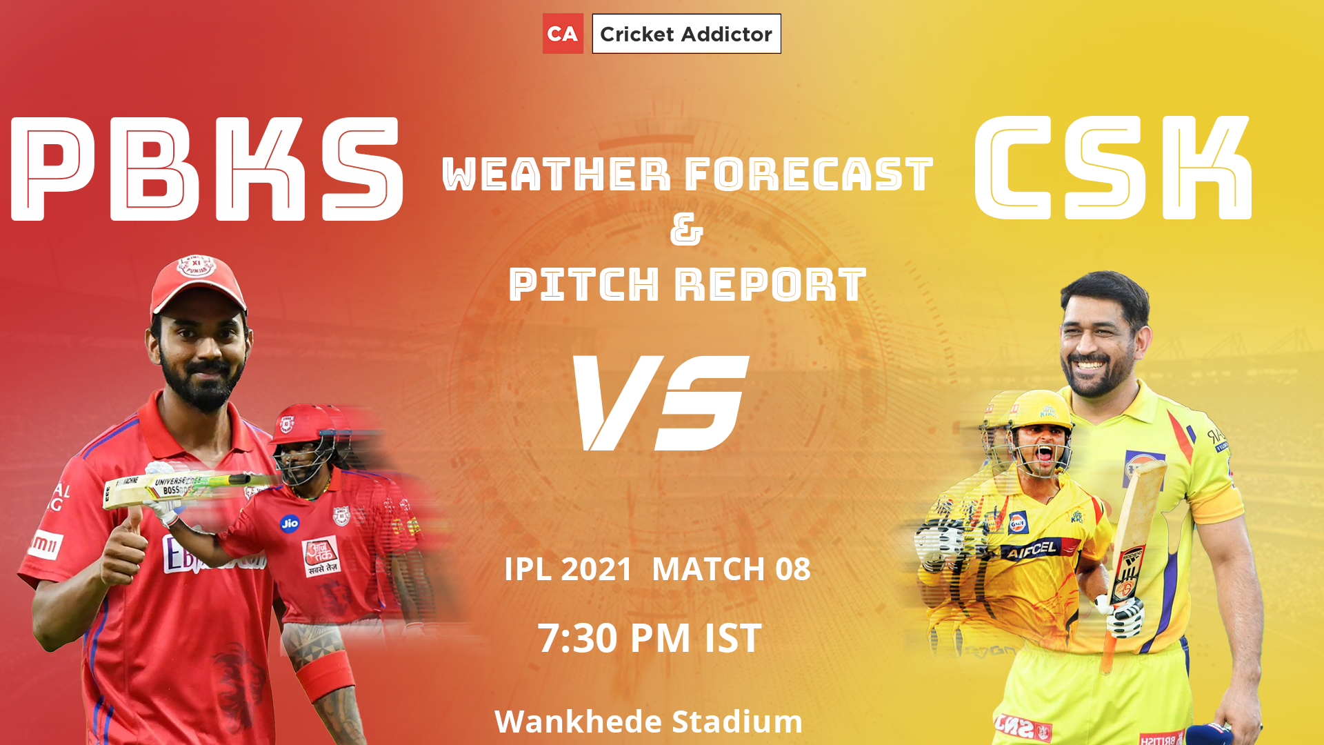 IPL 2021, Punjab Kings, Chennai Super Kings, PBKS vs CSK, Weather, Pitch, Mumbai, Wankhede Stadium