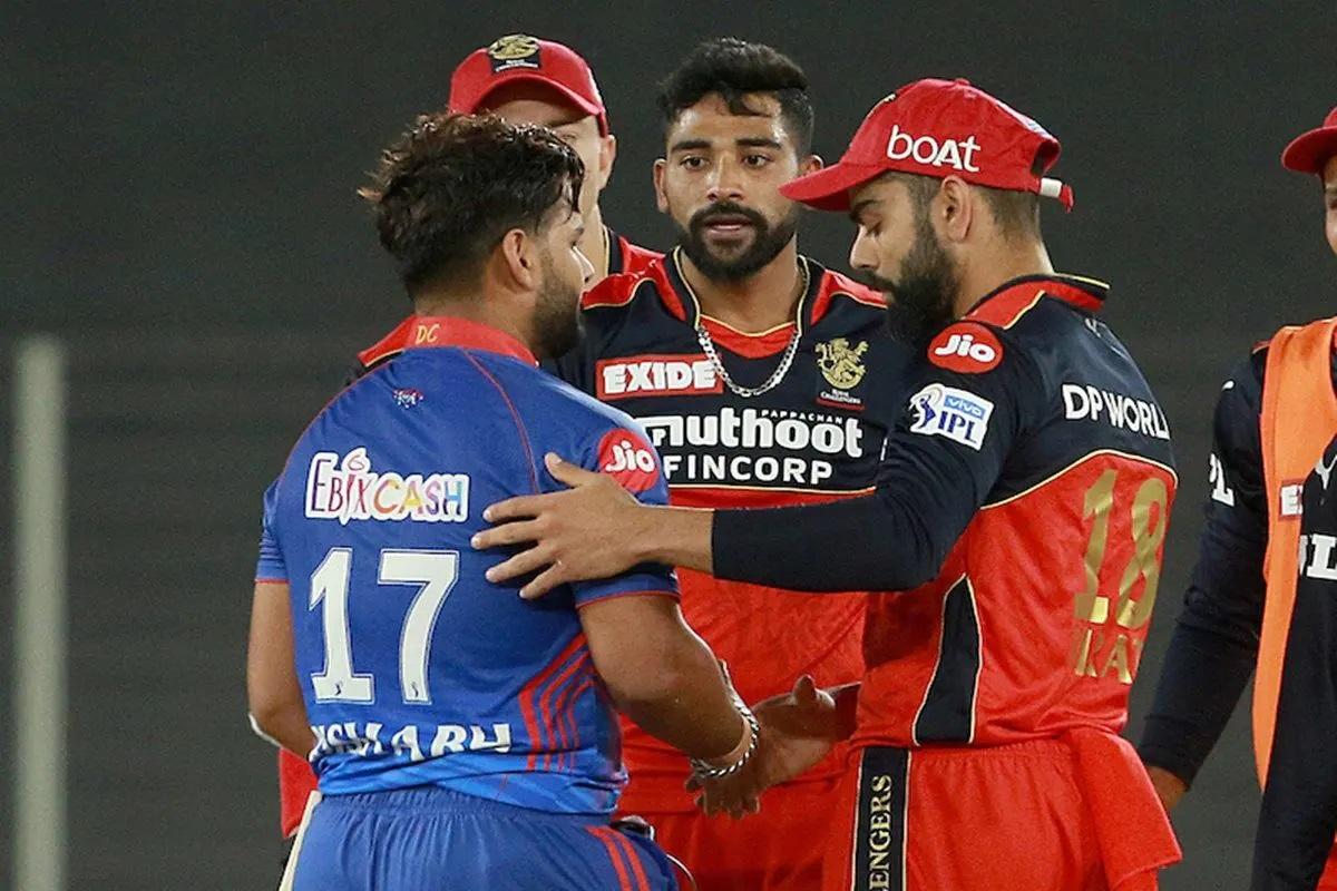 RCB Defeats DC in IPL 2021