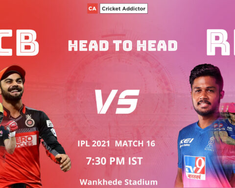 IPL 2021, Royal Challengers Bangalore, Rajasthan Royals, RCB vs RR, head-to-head