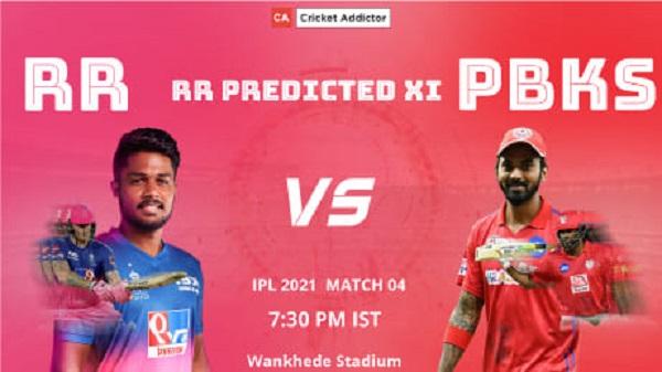 RR, Rajasthan Royals, predicted XI