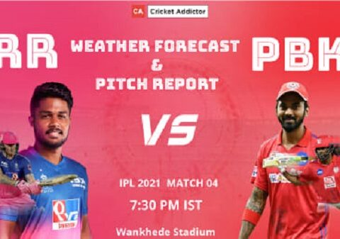 Rajasthan Royals, Punjab Kings, RR vs PBKS, Weather Forecast, Pitch Report