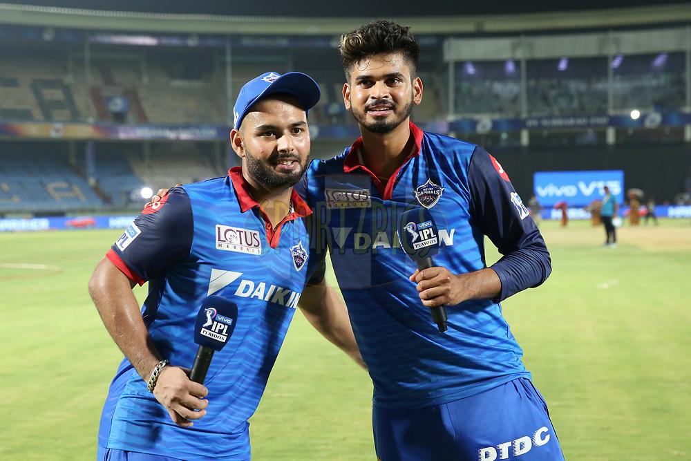 Rishabh Pant and Shreyas Iyer