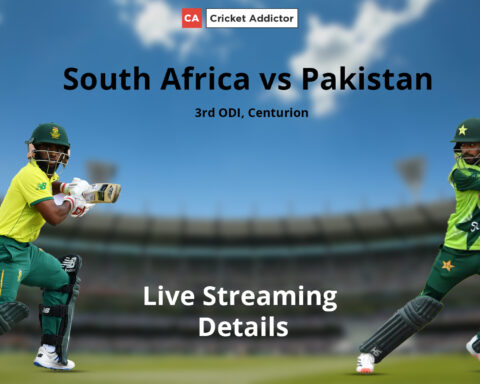 South Africa, Pakistan, Live Streaming
