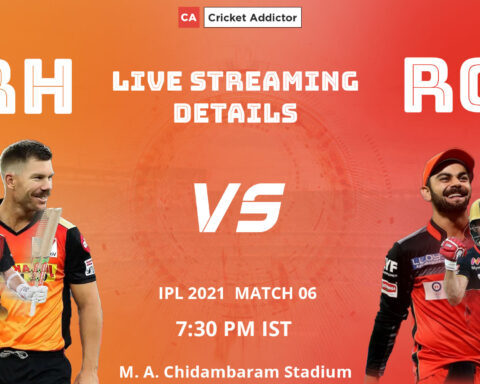 IPL 2021, SunRisers Hyderabad, Royal Challengers Bangalore, SRH vs RCB, When and Where to Watch, Live Streaming