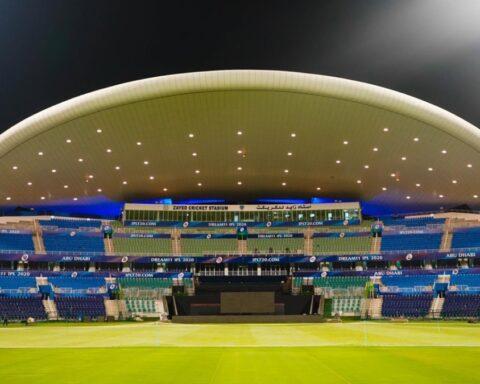 Sheikh Zayed Cricket Stadium in UAE