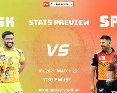 IPL 2021, CSK vs SRH, Stats Preview, CSK, SRH