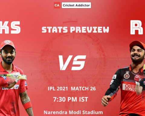 IPL 2021, PBKS, RCB, Stats Preview, PBKS vs RCB