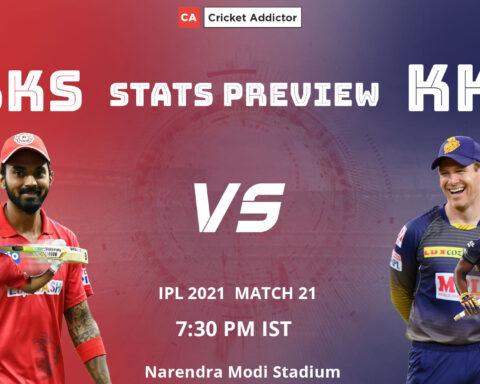 IPL 2021, Punjab Kings, Kolkata Knight Riders, PBKS vs KKR, Stats Preview